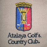 BORDADO ATALAYA GOLF